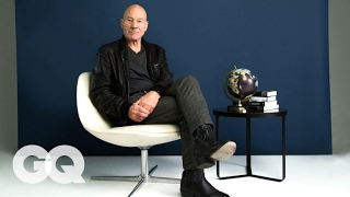Patrick Stewart Reads 1-Star Reviews of Famous Monuments   GQ