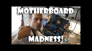 PC Motherboard Hardware Hacking and PSU wire modification Tutorial - LP