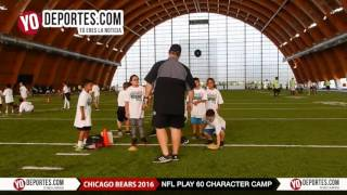 Chicago Bears NFL Play 60 Character Camp