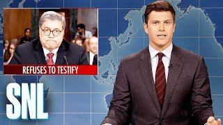 Weekend Update: William Barr's Senate Testimony - SNL
