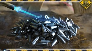 The Ice Experiments: Molten Lead (Fishing Sinkers)