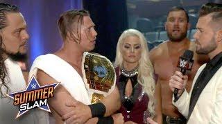 The Miz & The Miztourage call out Raw GM Kurt Angle for holding them back: Aug. 20, 2017