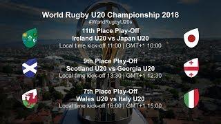 U20 Championship Day 5 - Wales U20 v Italy U20