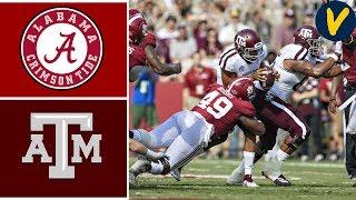 #1 Alabama vs #24 Texas A&M   Week 7   College Football Highlights   2019