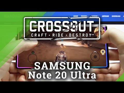 Crossout Mobile on SAMSUNG Galaxy Note 20 Ultra - Gameplay
