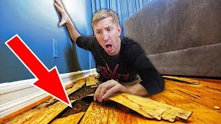 FOUND TRACKING DEVICE UNDERGROUND! (Trick Hacker into Trap using Spies Abandoned Evidence)