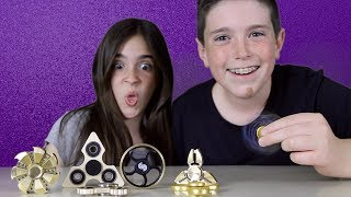 CRAZY FIDGET SPINNER TRICKS