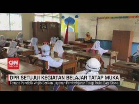 DPR Setujui Kegiatan Belajar Tatap Muka