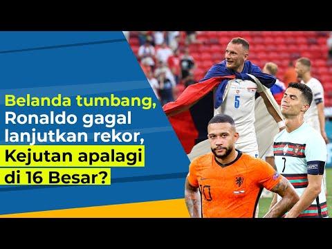 EURO 2020: Belanda Tumbang, Portugal Lempar Handuk, Kejutan Apalagi di 16 Besar?