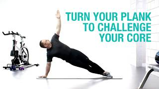 Wellness Wednesday: Turn your plank to challenge your core