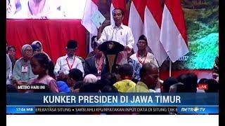 Jokowi Bagikan 3.200 Sertifikat Tanah untuk Warga Gresik