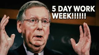 McConnell Bites The Bullet: 5 Day Work Week For Senate