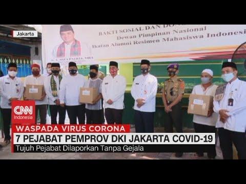 7 Pejabat Pemprov DKI Jakarta Covid-19