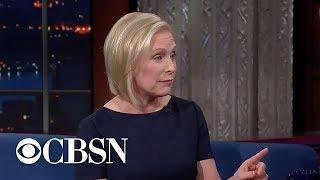 Kirsten Gillibrand announces 2020 presidential run on Colbert