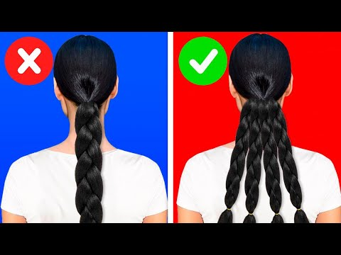 25 AMAZING HAIRSTYLES AND HAIR HACKS FOR GORGEOUS LOOK