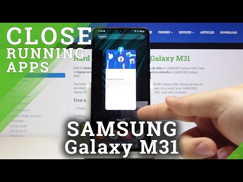 How to Turn Off Running Apps in SAMSUNG Galaxy M31 – Close Background Apps