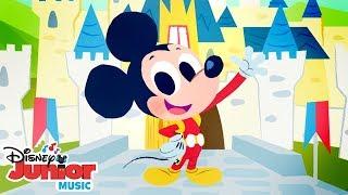Mickey Roadster Racing Nursery Rhymes! | 🎼 Disney Junior Music Nursery Rhymes | Disney Junior