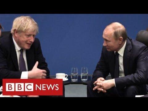 Boris Johnson denies failing to address Russian threat to UK - BBC News