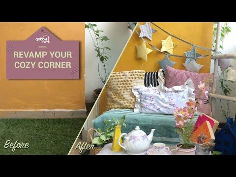 Gobble | Revamp Your Cozy Corner | DIY Home Decor