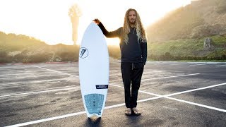 The Seaside at Seaside - Rob Machado's new Helium shape by Firewire Surfboards