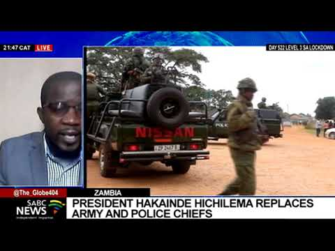 Appointment of Zambia's top military commanders and head of police: Arthur Sikopo