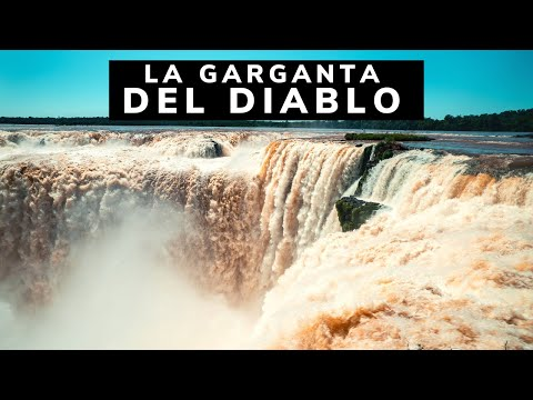 😈¿Cómo es la GARGANTA DEL DIABLO? |ARGENTINA Cataratas del Iguazú