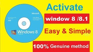 How to Install & Activate Windows 8 Pro || All Version || Genuine Product || Step By step