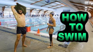 HOW TO SWIM with Sophie Pascoe | HOW TO SPORT SERIES