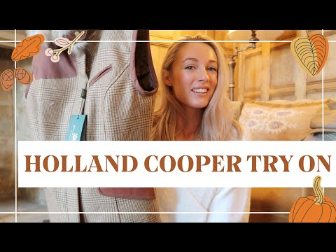 HOLLAND COOPER UNBOXING + FACE MASK HAUL // Fashion Mumblr