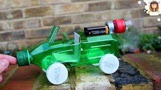 How to make a Car - Powered Car - Very Simple