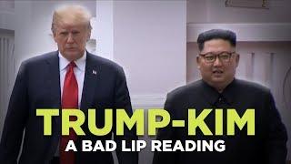 ″TRUMP-KIM SUMMIT″ — A Bad Lip Reading
