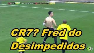 Fred do Disimpedidos faz gol de voleio estilo Cr7