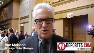Joe Maddon Chicago Cubs Convention
