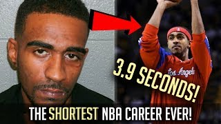 The SHORTEST NBA Career EVER! - 3.7 SECONDS!