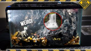 Under Water Waterfall