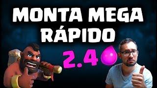 MONTA MINI PEKKA MEGA RÁPIDO, ¡DE 2.4 ELIXIR! | Malcaide Clash Royale
