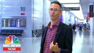 San Francisco Airport Bans Single-Use Plastic Bottles   NBC News Now