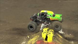 Monster Jam - Avenger Monster Truck & Jim Koehler Full Freestyle run from Toronto - 2012