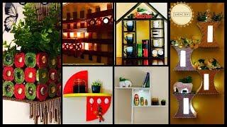 6 DIY Wall Shelves and Display Units  gadac diy  room decor  craft ideas for home decor  diy crafts