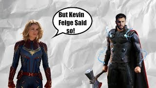 Captain Marvel Is NOT Stronger Than Thor! (MCU)