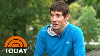 World Famous Rock Climber Gives Savannah Guthrie A Lesson | TODAY