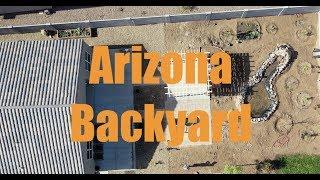 Arizona Backyard - New Home Building Progress Part 1