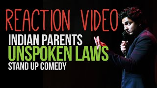 Indian Parents, OCD and Electricity at Home - Stand Up Comedy by Kenny Sebastian Reaction