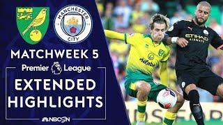 Norwich City v. Manchester City | PREMIER LEAGUE HIGHLIGHTS | 9/14/19 | NBC Sports