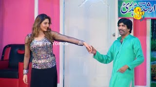 Sajan Abbas With Amanat Chan and Khushboo Stage Drama Mr Gaama Full Comedy Clip 2019