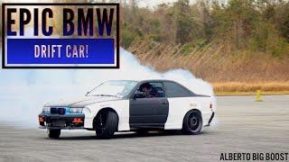 EPIC BMW DRIFTING!!! SMOKE SCREEN!!!!