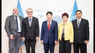 Chairperson and Vice-Chairs of the Codex Alimentarius Commission