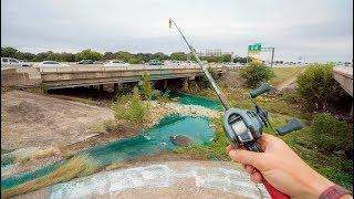 Highway Creek Fishing Challenge - Urban Bass Action