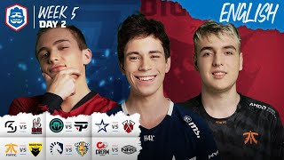 Clash Royale League: CRL West Fall 2019 | Week 5 Day 2! (English)