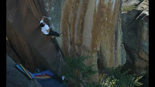 Pretty Tall - Daniel Woods, Giuliano Cameroni and Shawn Raboutou in Rocklands